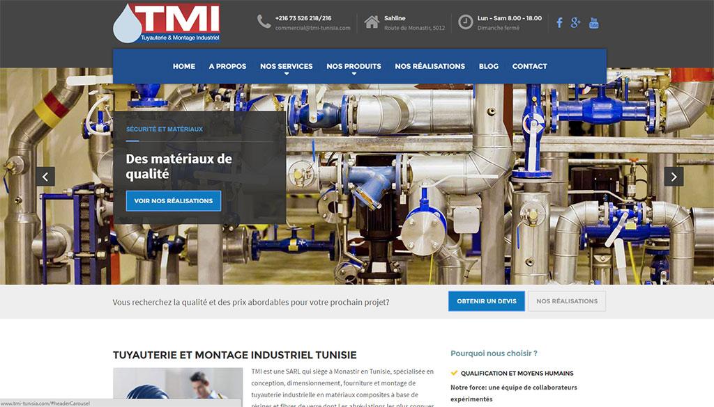 ENTREPRISES : Tuyauterie et Montage Industriel